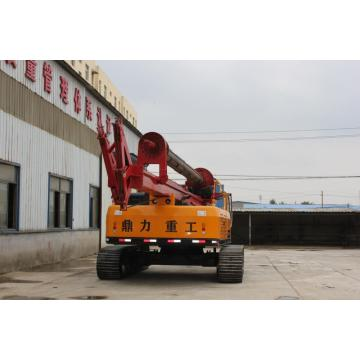 DR-160 rotary drilling rig can punch 40 meters
