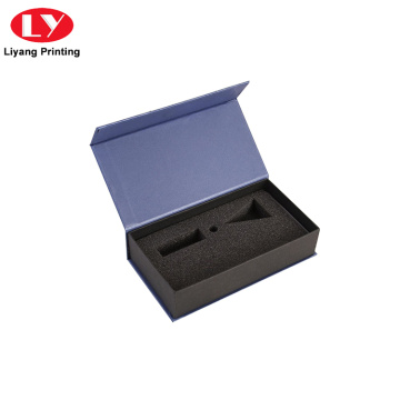Printed Paper Magnetic Foldable Box with Foam Insert