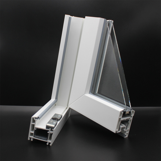 Plastic Extrusion uPVC Profile For uPVC Window Doors