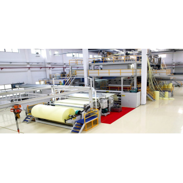 S/SS/SSS PP spunbond nonwoven fabric making machine