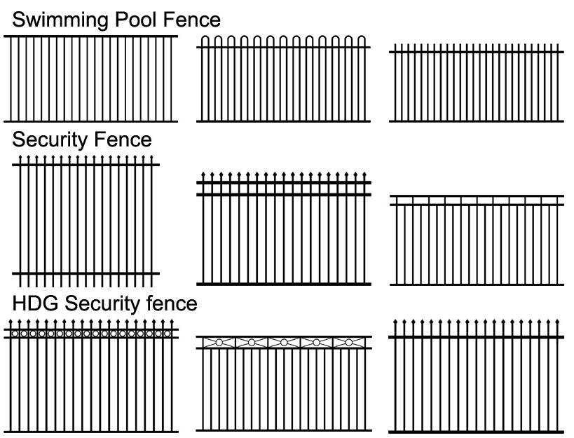 Fence type one