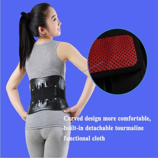 Approved back waist supporting brace for people