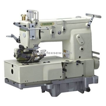 12-Needle Flat-bed Double Chain Stitch Sewing machine (for attaching line tapes)