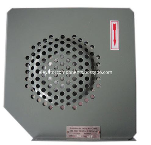 RV140 Cooling Fan for Schindler 300P Elevator Traction Machine