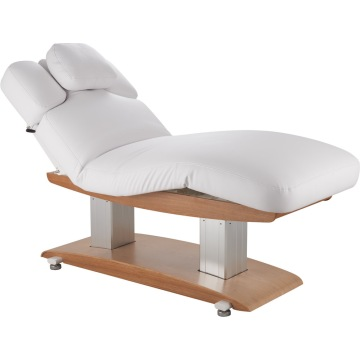 Wooden body massage table facial spa bed