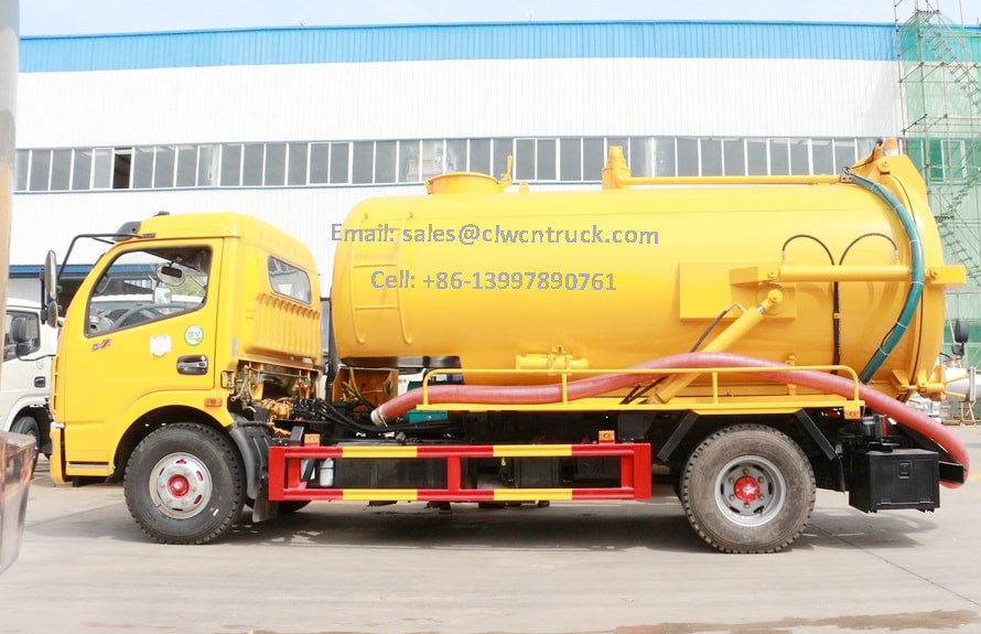 Waste Suction Truck For Sale