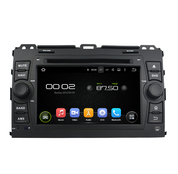TOYOTA Android 7.1 Car Audio Electronics Prado