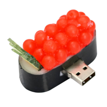 Cute Sushi PVC USB Flash Drive