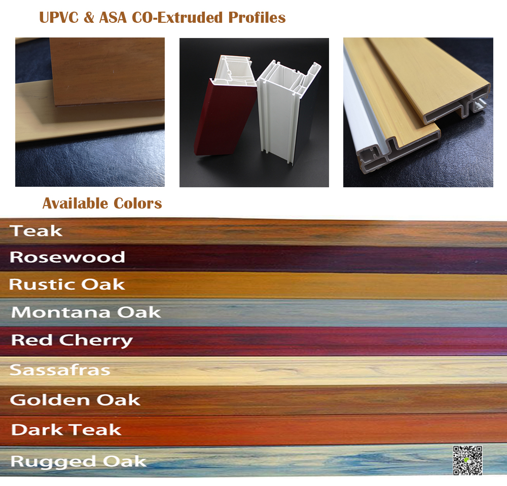 PVC Co Extrusion Profiles