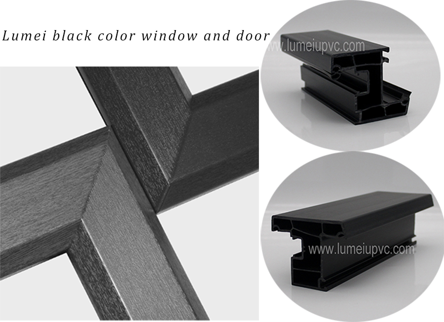 windows and doors pvc profiles