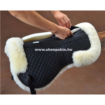 100% Australian merino Sheepskin horse saddle pad cloths