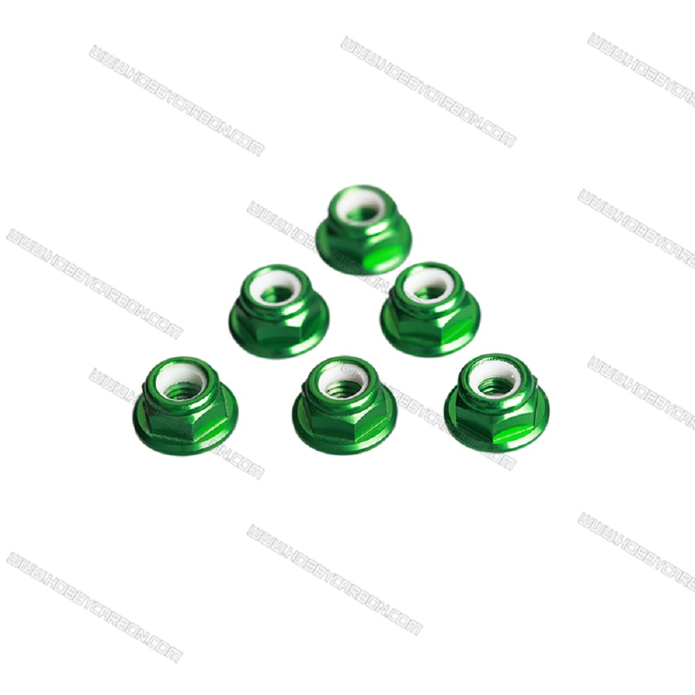 M6 Lock Nuts With Flange