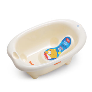 H8314 Plastic Baby Bathtub With Bath Support
