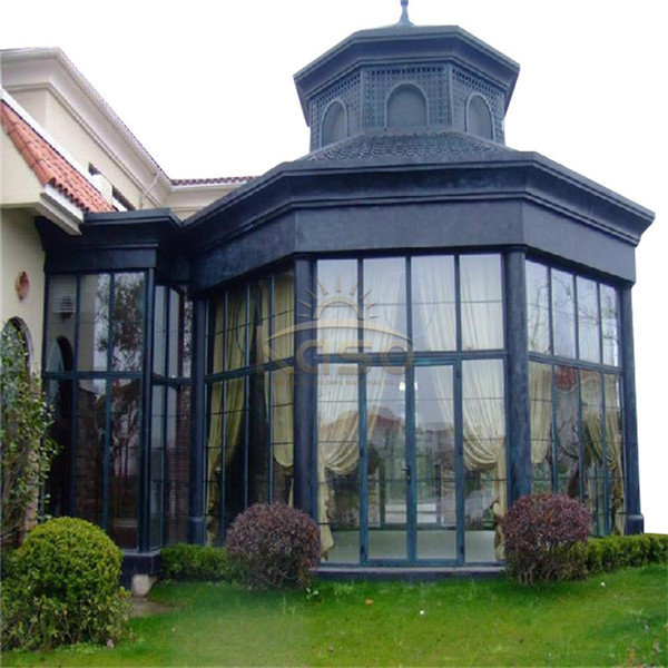 Glass House Aluminium Sunroom Kit Garden Sun Room