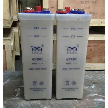 110v 800ah medium discharge rate nicd battery