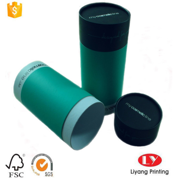 Hot cardboard tube cosmetic packaging gift box