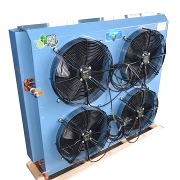 4 Fan Motors Heat Exchanger Air Cooled Condenser