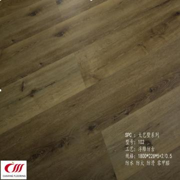 SPC Flooring  7mm +0.5mm Wearlayer