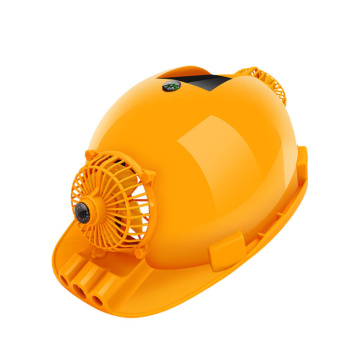Multi function cap with solar energy led fan