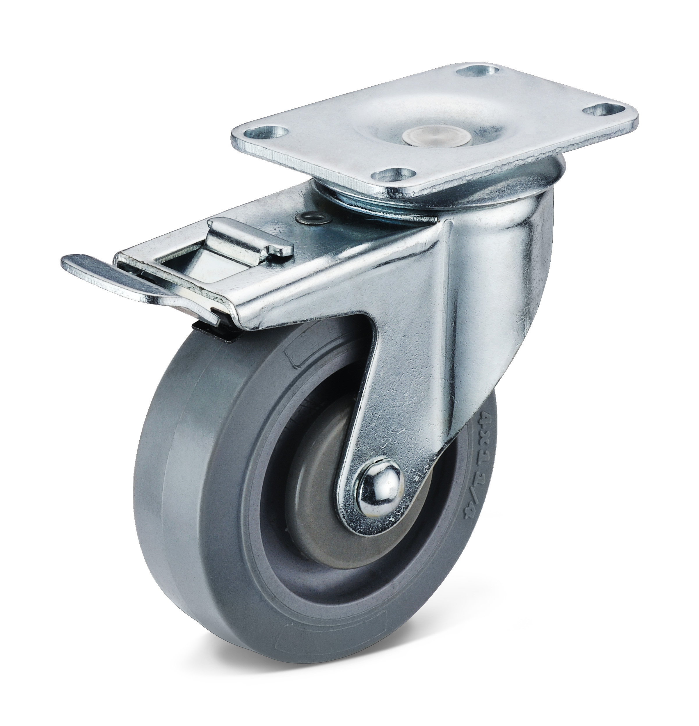 TPR Activity Double Brake Casters