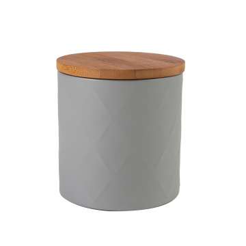 Grey Big Metal Storage Box Enamel