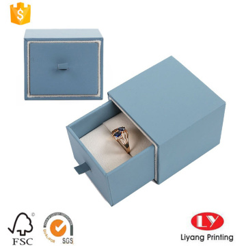 Cardboard Drawer Box with Foam for Ring