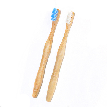 Eco Friendly Vegan Recyclable Organic Wood Bamboo Toothbrush
