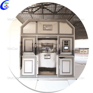 High efficiency cremation system no smoke crematory