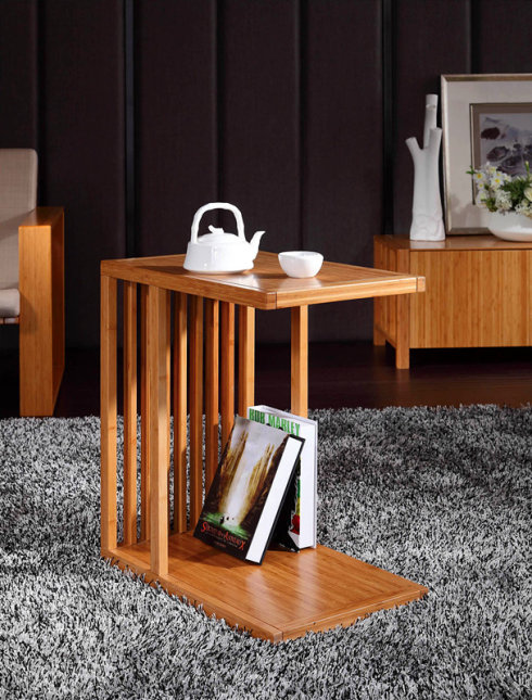 Bamboo Tea Table In Living Room