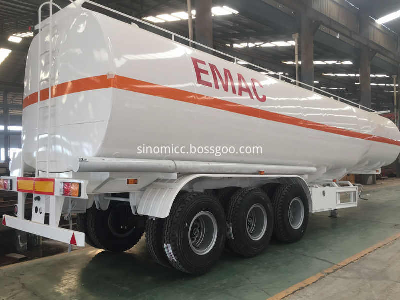 Fuel Tank Trailer To Mali