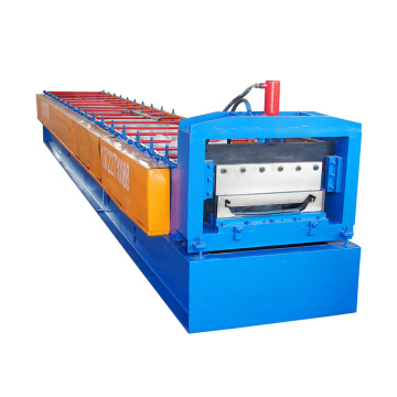 Latest 788mm width joint hidden safety sheet metal roll forming machine