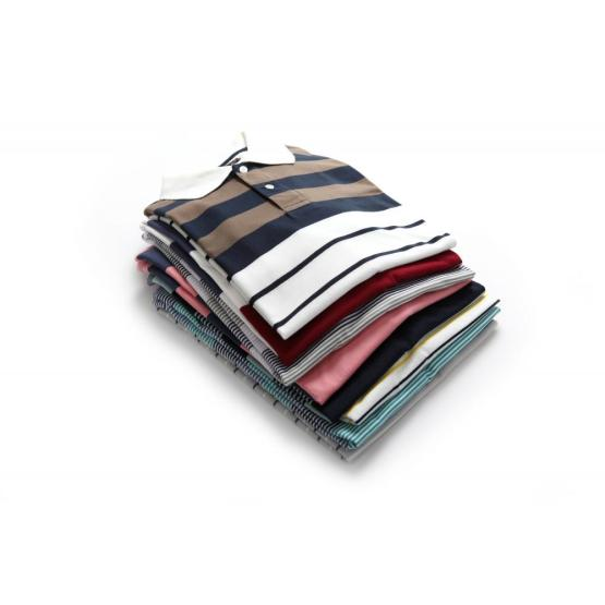MEN'S YARN DYE POLO SHIRTS