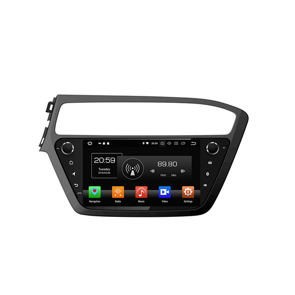 car double din dvd player for I20 2018