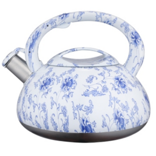3.0L color painting decal teakettle