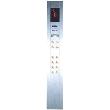 Car Operating Panel , DC12V , DC24V For Elevator , PB181