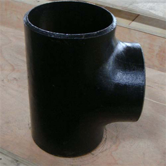 Gost17376 Carbon Steel Seamless Pipe Reducing Tee