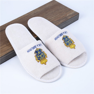 Open Toe Hotel Slippers