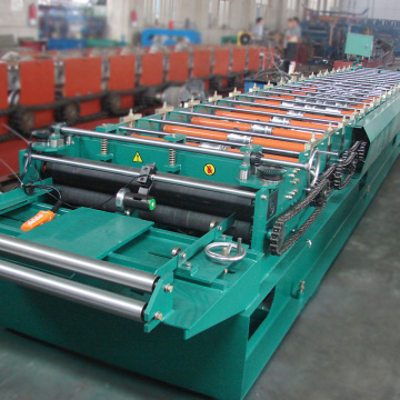 Customized width galvanized sheet metal manufacturing machine