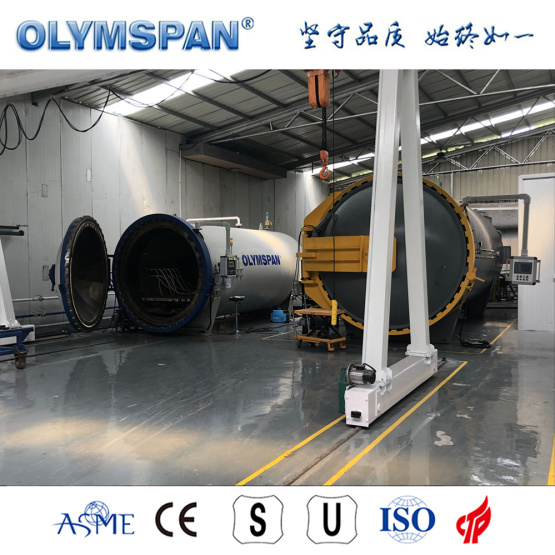ASME standard small prepreg part autoclave