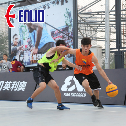 PP Interlocking Court Tiles Basketball Court Flooring