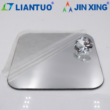 High Quality Color Silver Mirror Acrylic Plastic Sheets