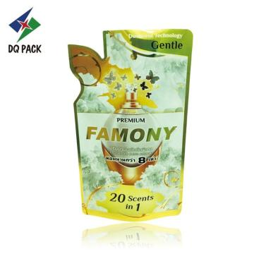 Plastic Liquid Stand Up Pouch Packaging Bag