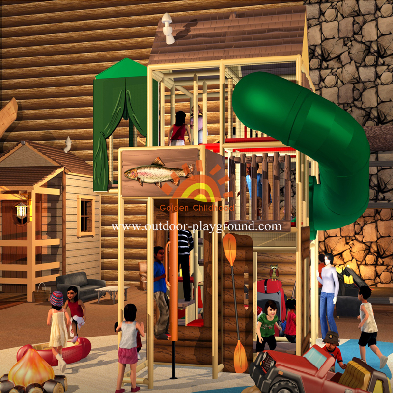 Farm Themed Playground For Kids