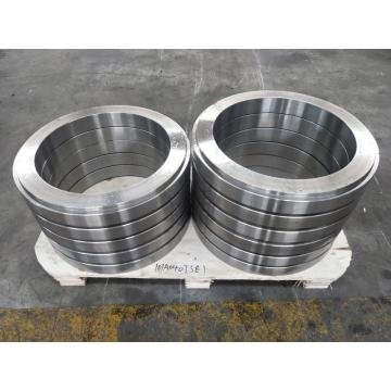 Reduction box inner gear ring forging