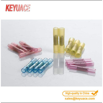 Copper Electrical Heat Shrink Wire Butt Connector Terminals