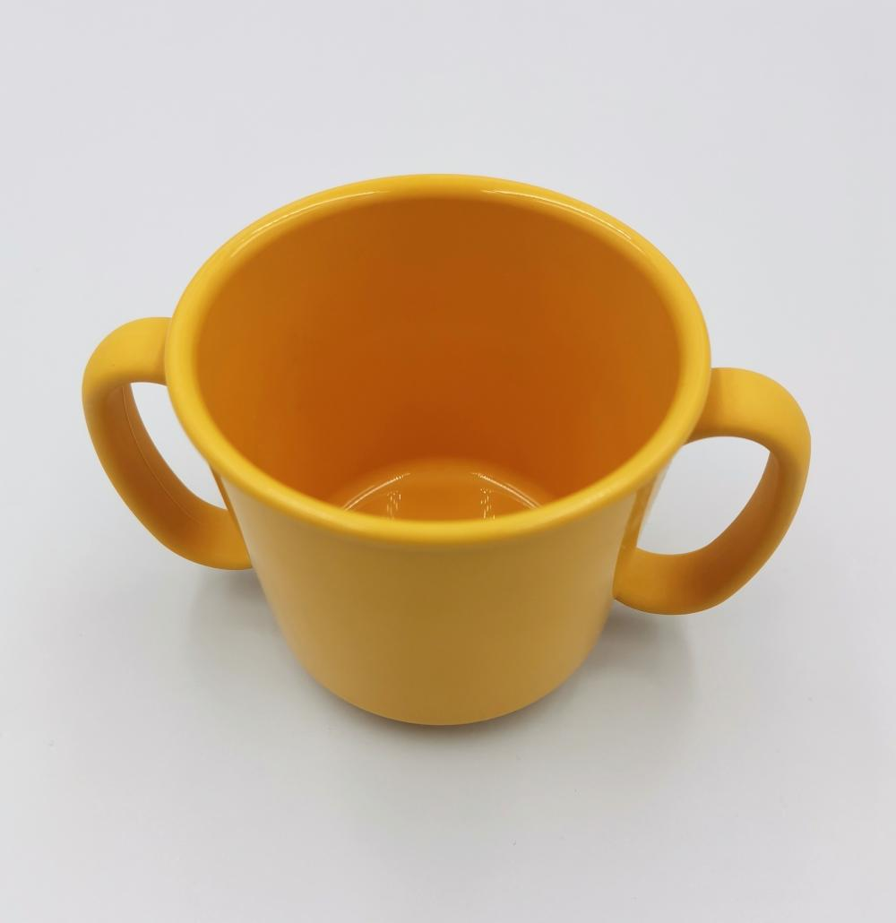 100% Biodegradable Non-toxic Two-handle Cup