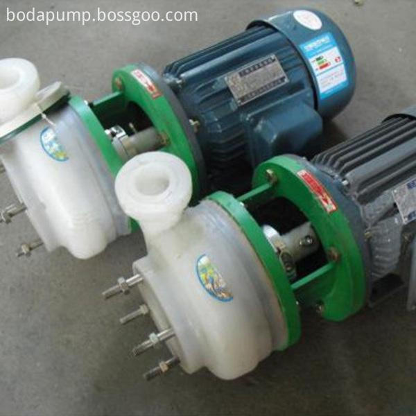 PF type strong corrosion resistant centrifugal pump 2