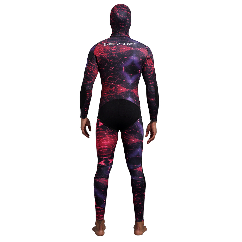 Seaskin Two Pieces Camo Spearfishing Wetsuit