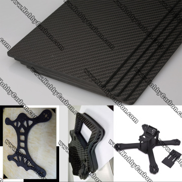 customized CNC cutting carbon fiber sheet