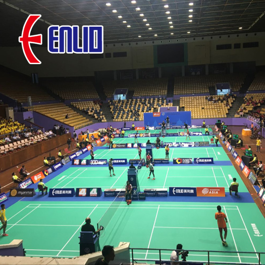 enlio PVC badminton court mat